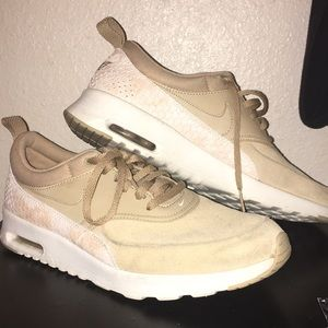 6b420cf698e57 Women s Nike Air Max Thea Tan on Poshmark